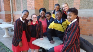 Participants from last year's concert: Bianca Njoka – Holy Family College (18), Genevieve Ducray – Maris Stella (16), Pinkie Mtshali – Emmanuel Cathedral, Sipho Moorosi – St Benedict (16), Thabiso Phakathi – Kwa Thinthwa School for the Deaf (16) (with spectacles), Nosipho Ndaba – Holy Family College (17), (top) Lethiwe Ntaka – Kwa Thinthwa School for the Deaf (16) and Georgina Brink – Maris Stella (16)