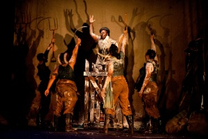 Neil Coppen's Animal Farm is one of the must-see shows at the Hilton Arts Festival.