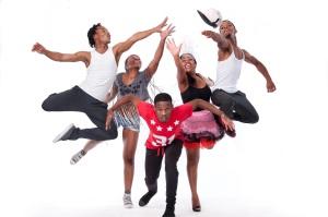 Nqubeko Ngema; Ntanda Madlala; Soyiso Ndaba; Lungile Majola; and Mjabulo Zungu will be performing in Xplosion at DUT. Photo: Val Adamson