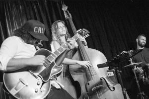 Keenan Ahrends Trio. Photo by Niklas Zimmer