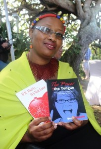 """Bongi Malishe, author of You are Wired to Win, was one of several speakers at the inaugural Ramsgate Literary Festival. She has written books in both English and isiZulu  and is in demand as a motivational speaker. Malishe told festival-goers: """"You are what you say you are; circumstances happen to equip you with the skills you need to reach your goal. So remember, whatever you go through in life will make you stronger."""""""