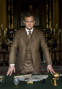 Hugh Bonneville as the Earl of Grantham