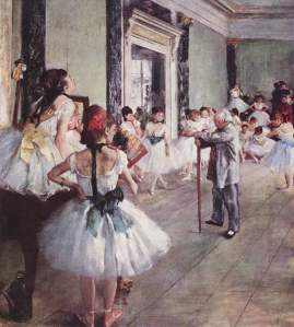 Edgar Degas - The Ballet Class - Google Art Project. Photo: Wikimedia Commons