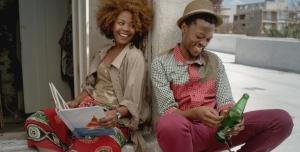 Fulu Mugovhani and Jafta Mamabolo in a scene from Ayanda.