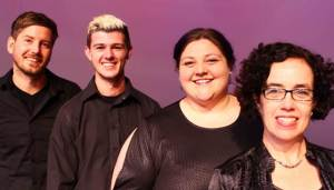 Performing in This is the Seventies are   (from left) Daniel Rossouw, Brandon Bosch, Erin Fourie, Sandra Styles