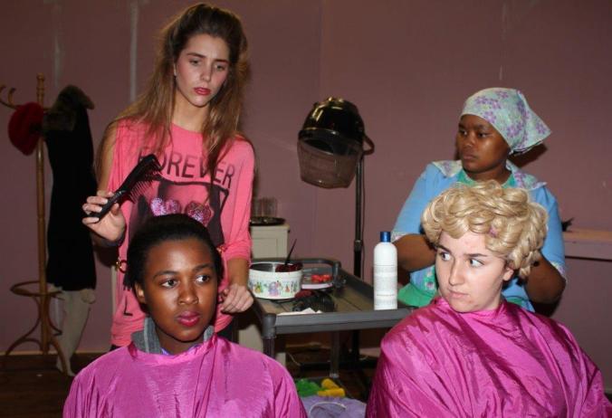 curl Rolene, Dudu, Miriam and Mrs Dubois 1