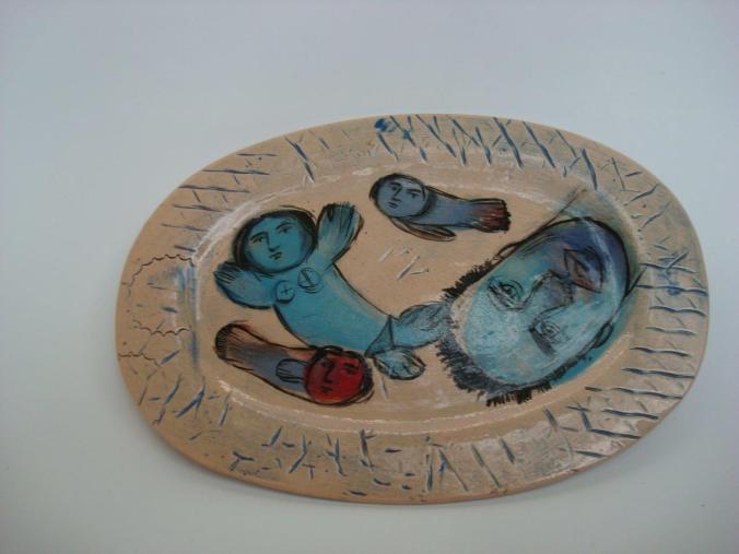 6. Belinda Leontsinis  ceramic plate