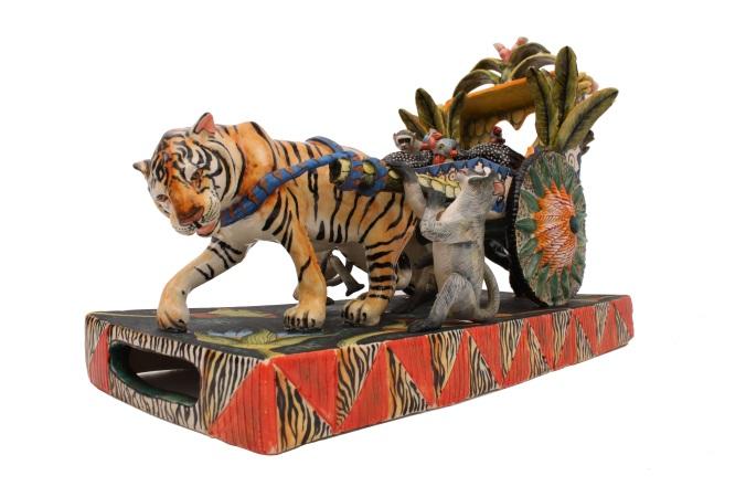 Tiger rickshaw