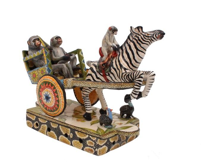 Zebra Rickshaw