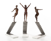 staircase-trio-in-bronze-by-sculptor-marke-meyer-2